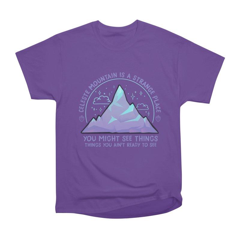 Mountain Men's Heavyweight T-Shirt by tulleceria