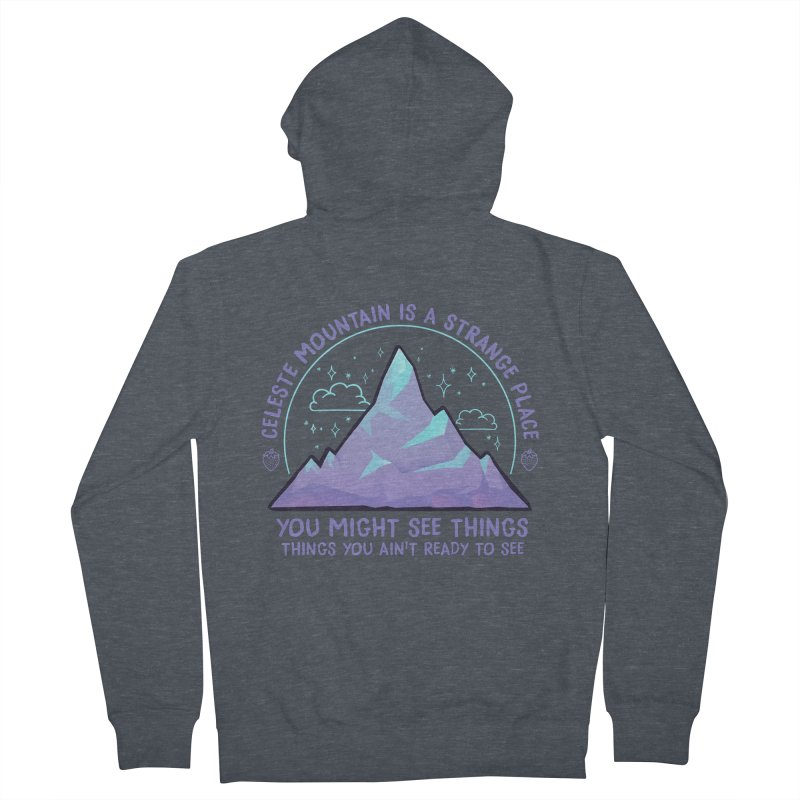 Mountain Women's French Terry Zip-Up Hoody by tulleceria