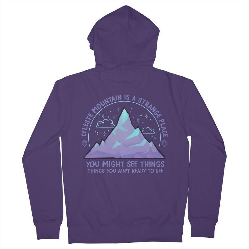 Mountain Women's Zip-Up Hoody by tulleceria