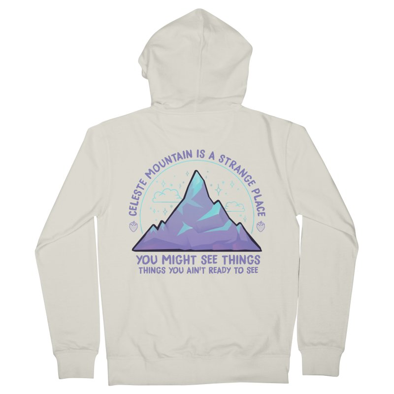 Mountain Men's French Terry Zip-Up Hoody by tulleceria