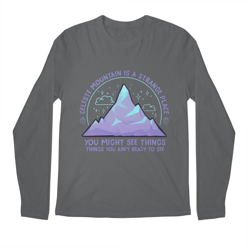 Mountain Men's Longsleeve T-Shirt by tulleceria