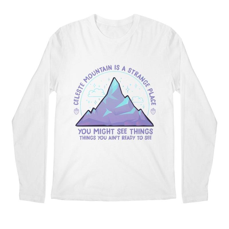 Mountain Men's Regular Longsleeve T-Shirt by tulleceria