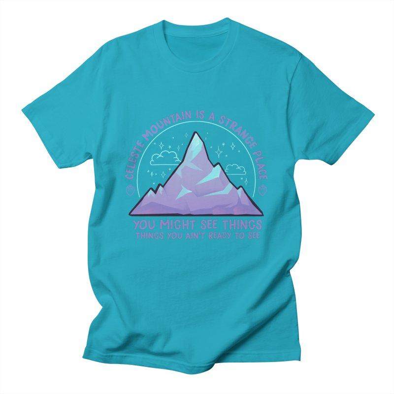 Mountain Men's T-Shirt by tulleceria
