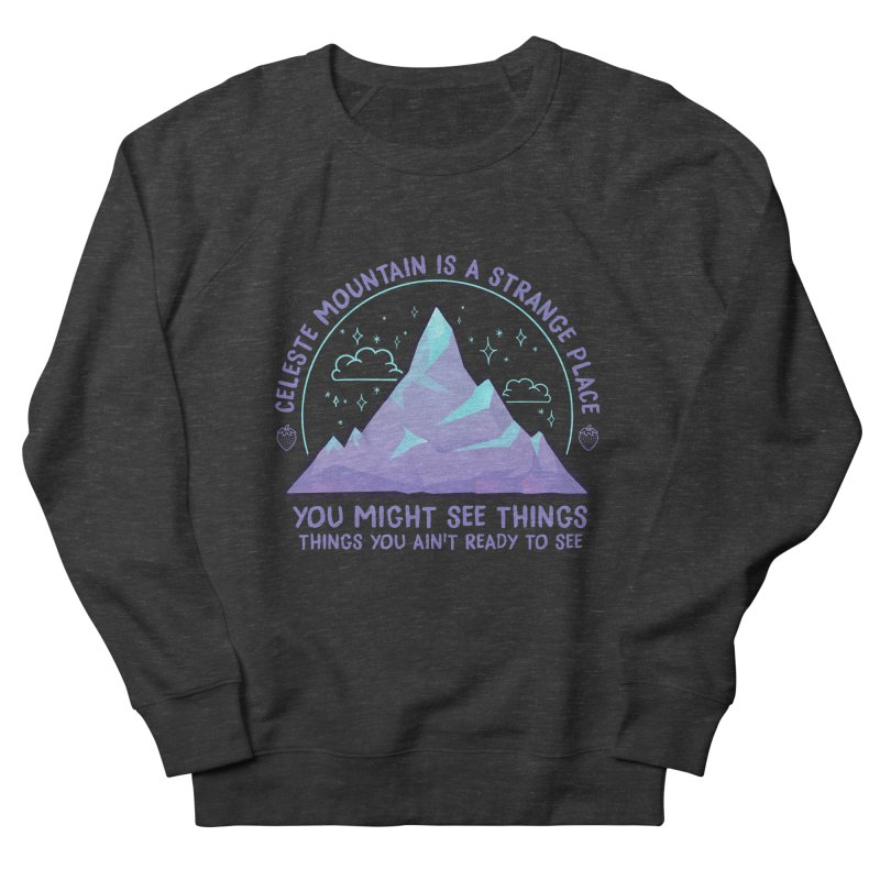 Mountain Women's French Terry Sweatshirt by tulleceria