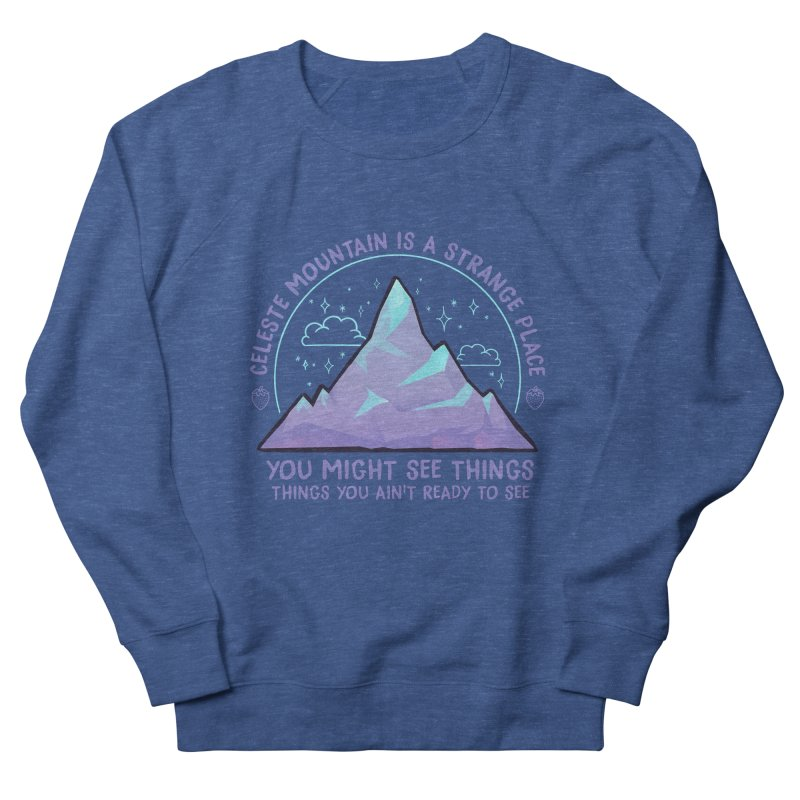 Mountain Men's French Terry Sweatshirt by tulleceria