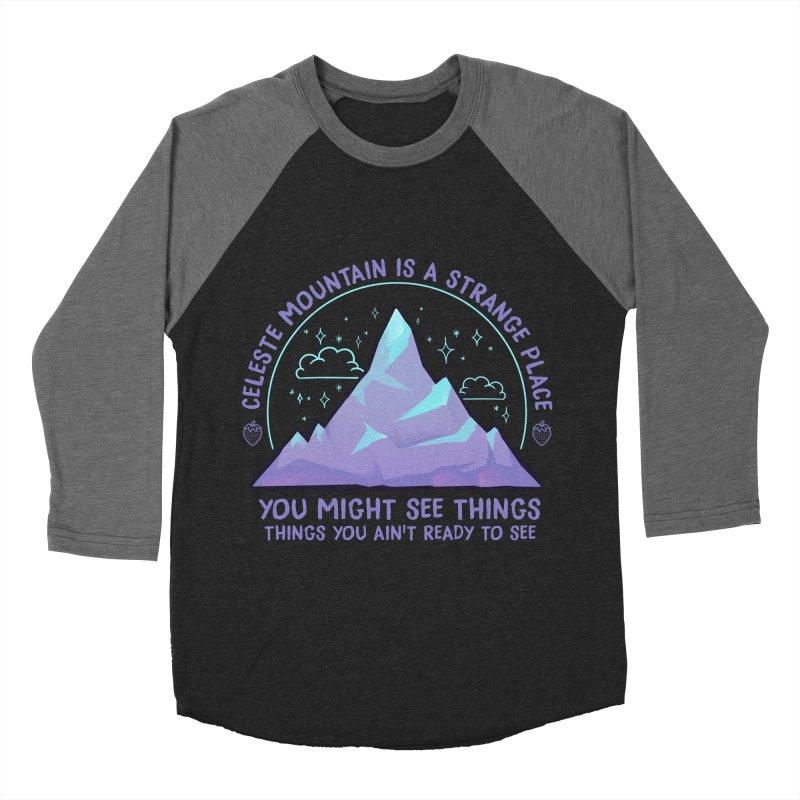 Mountain Men's Baseball Triblend Longsleeve T-Shirt by tulleceria
