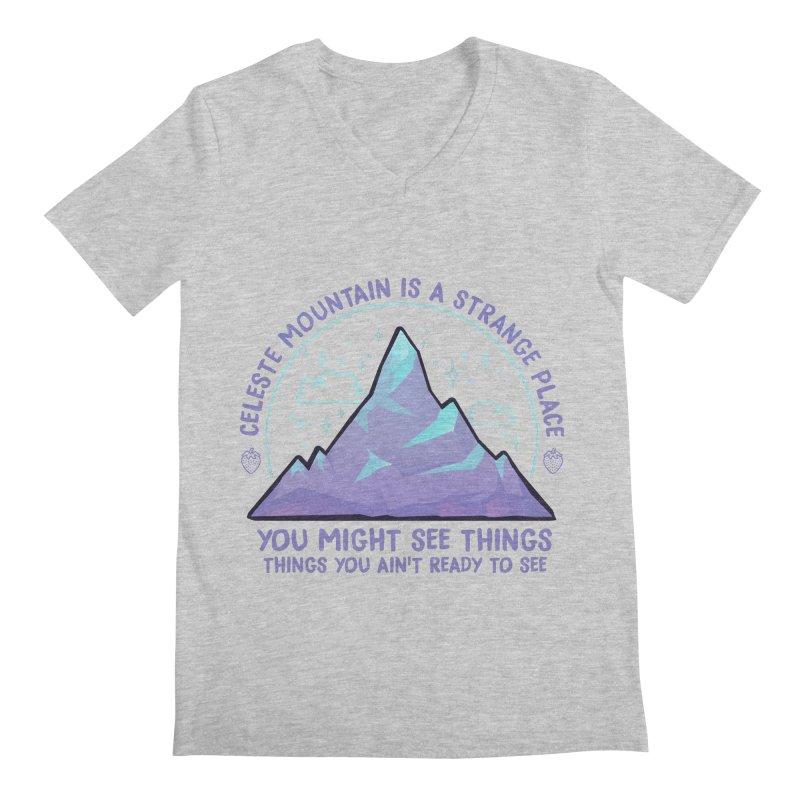 Mountain Men's Regular V-Neck by tulleceria