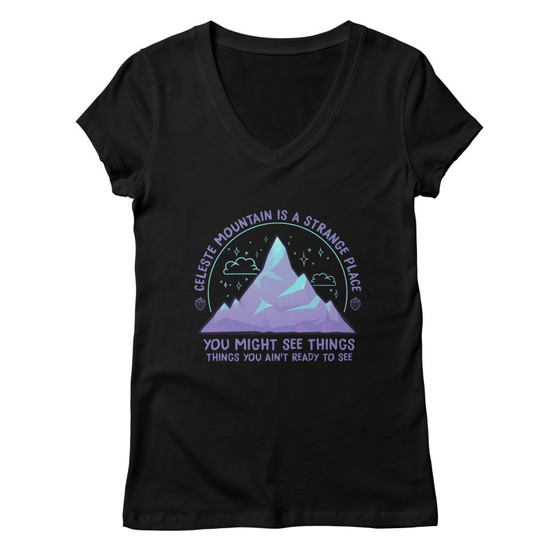 Mountain Women's V-Neck by tulleceria