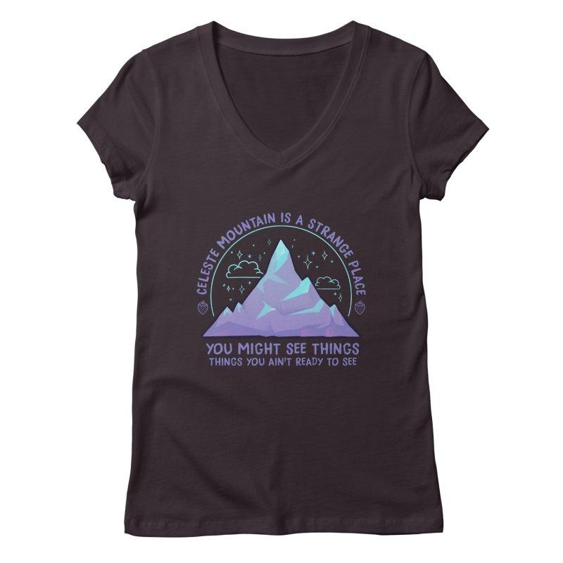 Mountain Women's Regular V-Neck by tulleceria