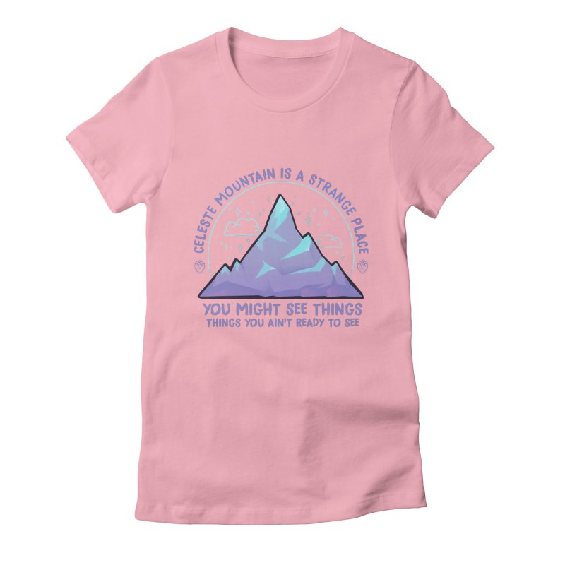Mountain Women's Fitted T-Shirt by tulleceria