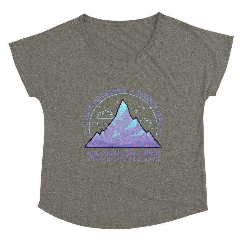 Mountain Women's Scoop Neck by tulleceria
