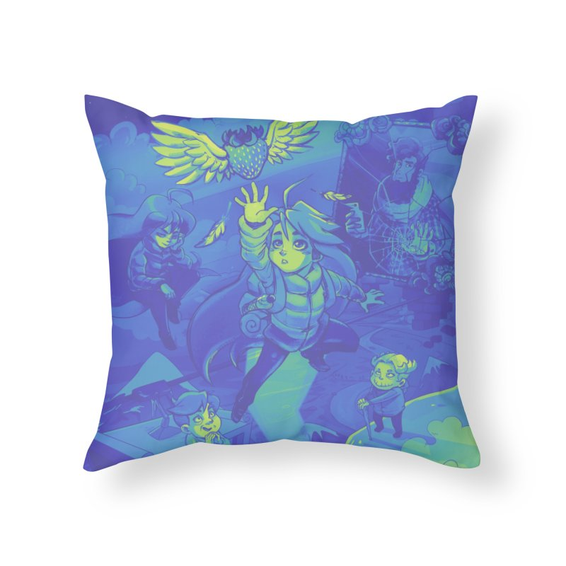 Cast Home Throw Pillow by tulleceria