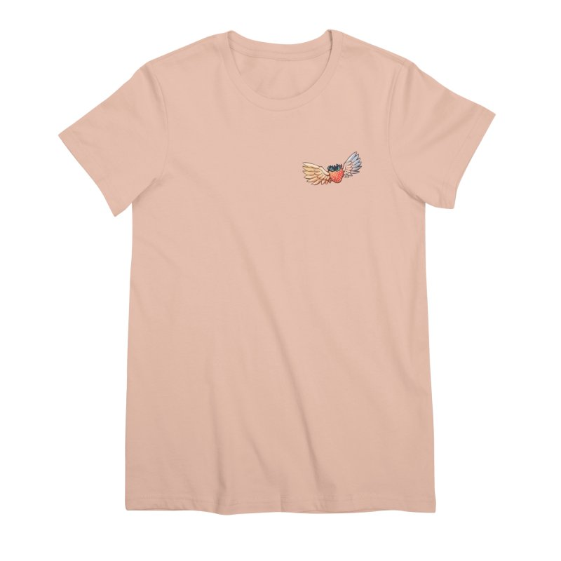 Strawberry Women's T-Shirt by tulleceria