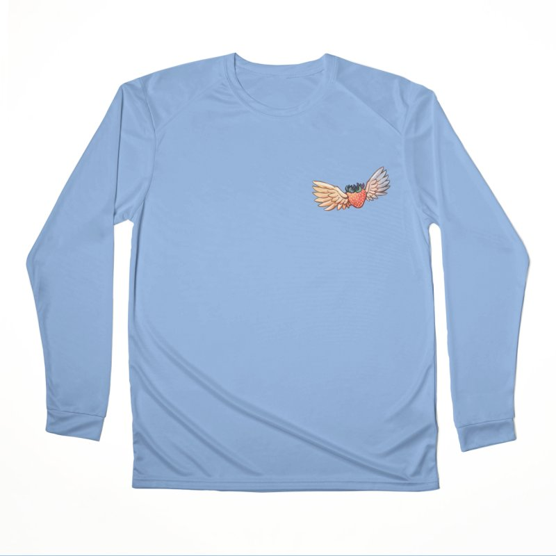 Strawberry Men's Performance Longsleeve T-Shirt by tulleceria