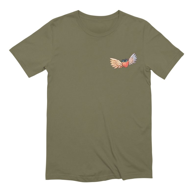 Strawberry Men's Extra Soft T-Shirt by tulleceria