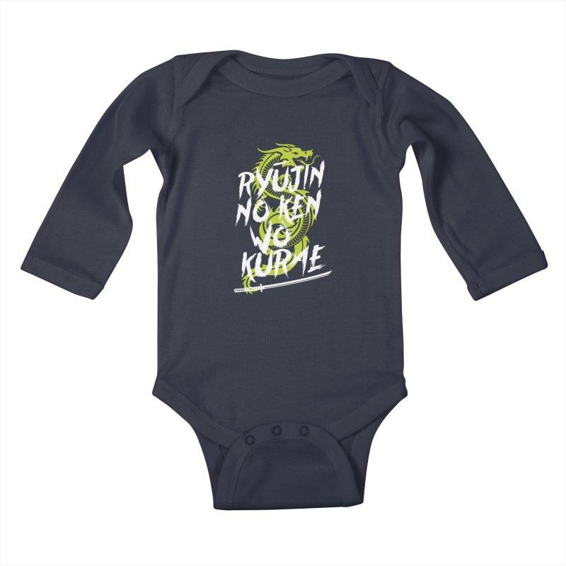 Genji Kids Baby Longsleeve Bodysuit by tulleceria