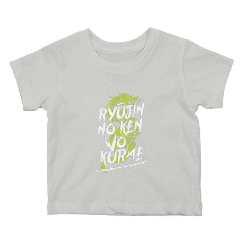 Genji Kids Baby T-Shirt by tulleceria