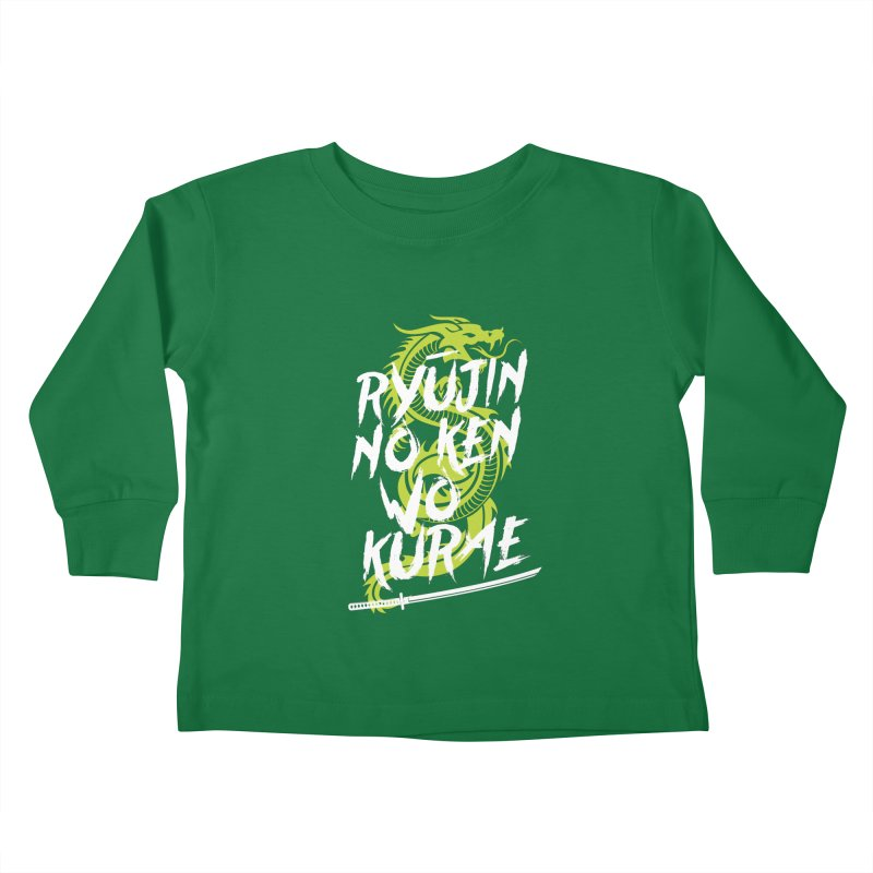 Genji Kids Toddler Longsleeve T-Shirt by tulleceria