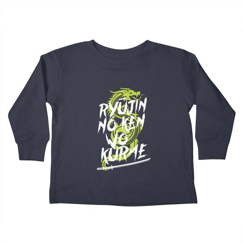Genji Kids Toddler Longsleeve T-Shirt by tulleceria
