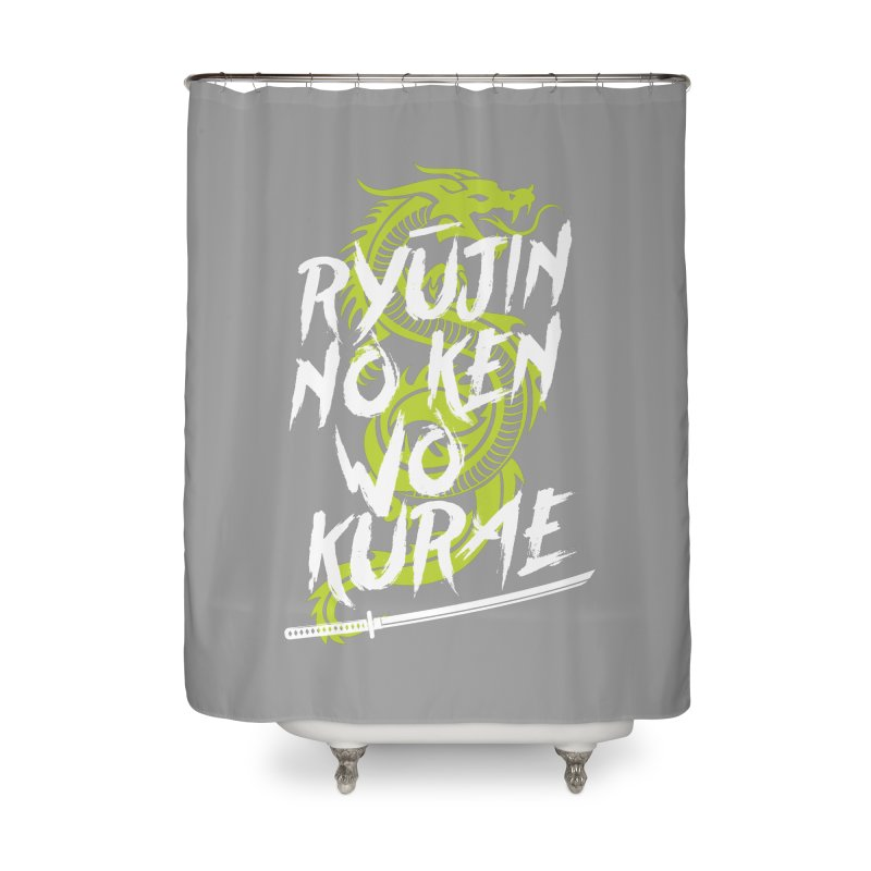 Genji Home Shower Curtain by tulleceria