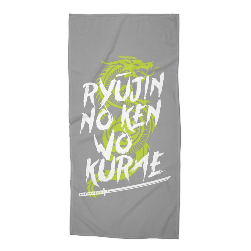 Genji Accessories Beach Towel by tulleceria
