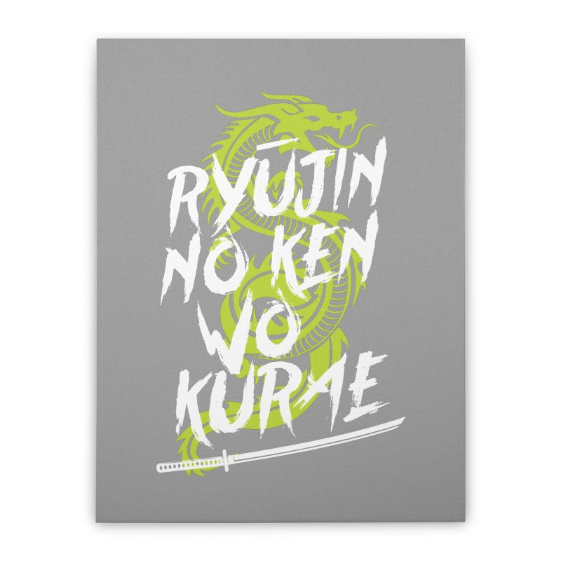 Genji Home Stretched Canvas by tulleceria