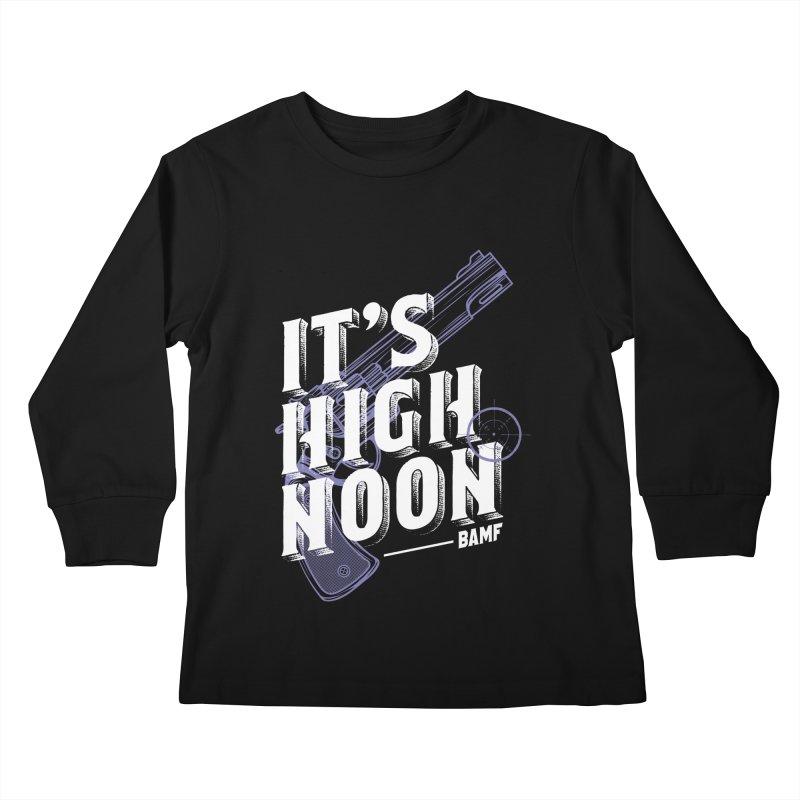 McCree Kids Longsleeve T-Shirt by tulleceria