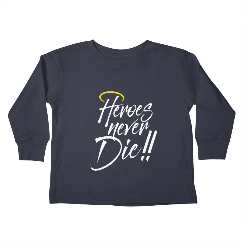 Mercy Kids Toddler Longsleeve T-Shirt by tulleceria