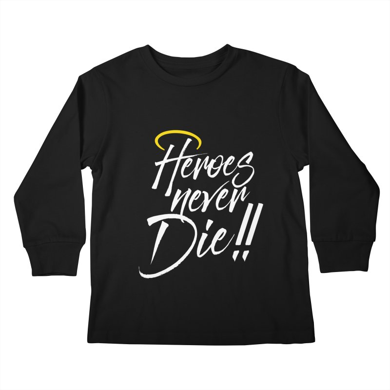 Mercy Kids Longsleeve T-Shirt by tulleceria