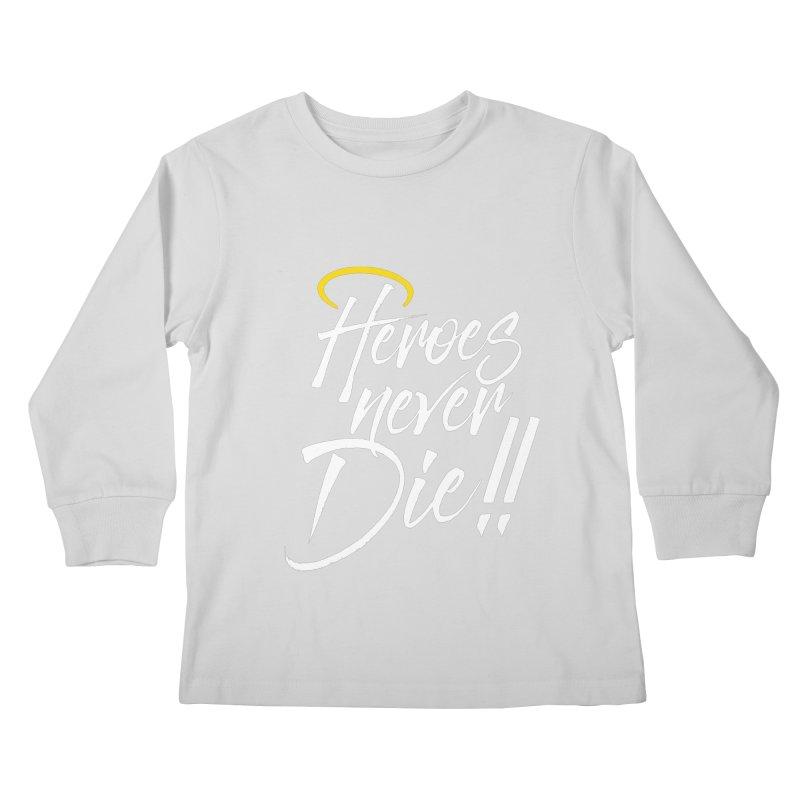 Mercy Kids Longsleeve T-Shirt by tulleceria