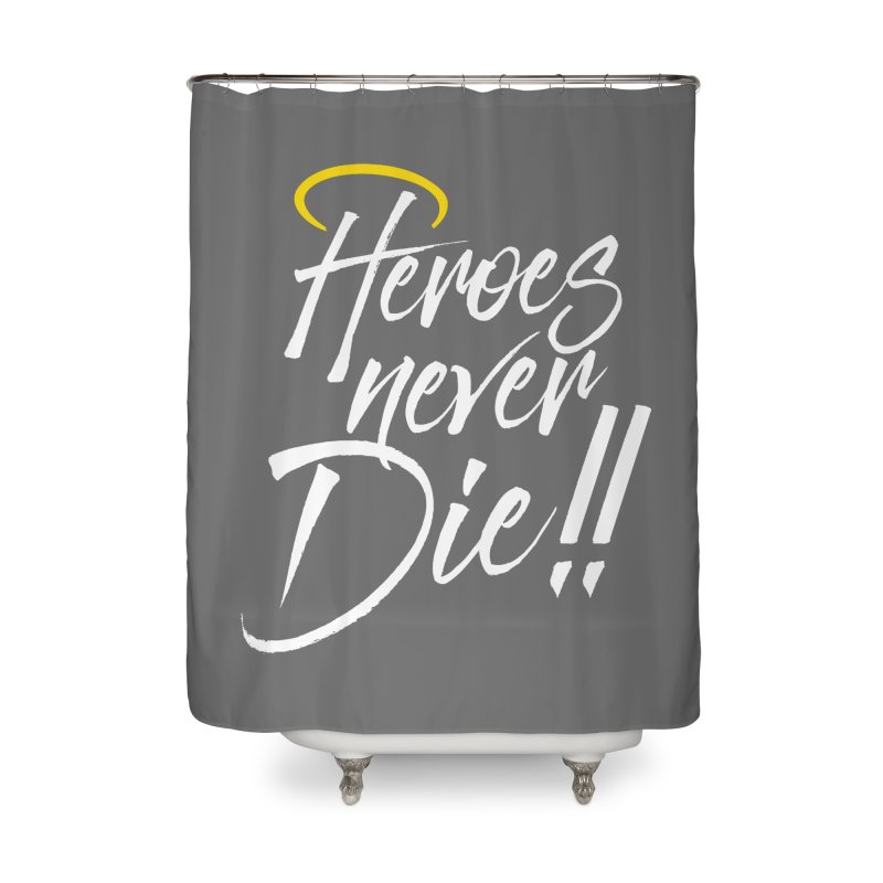Mercy Home Shower Curtain by tulleceria