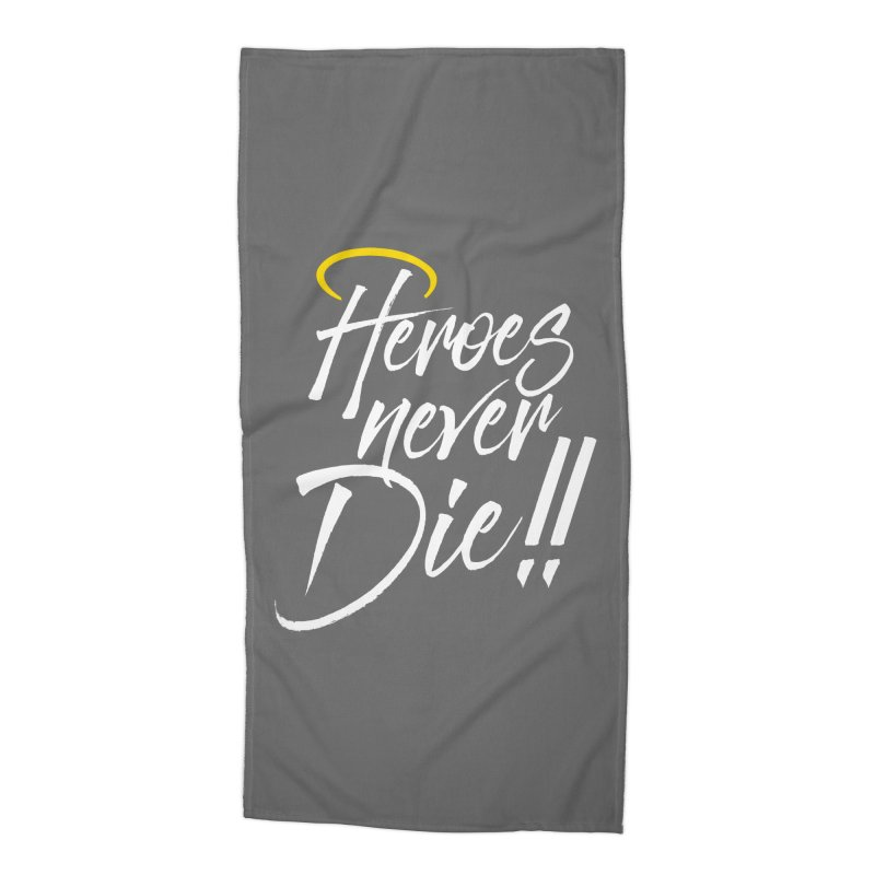 Mercy Accessories Beach Towel by tulleceria