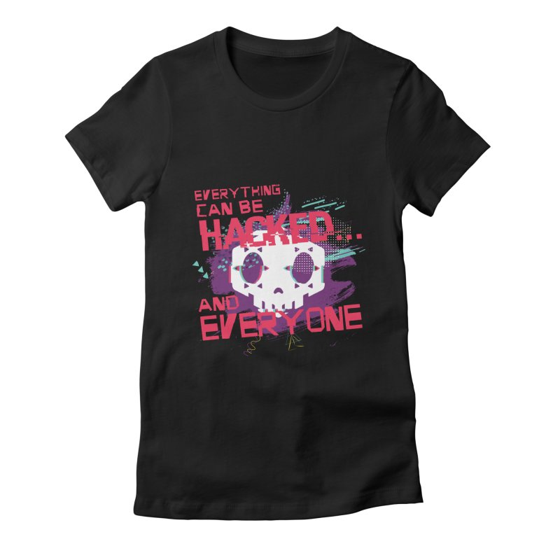 Sombra Women's Fitted T-Shirt by tulleceria