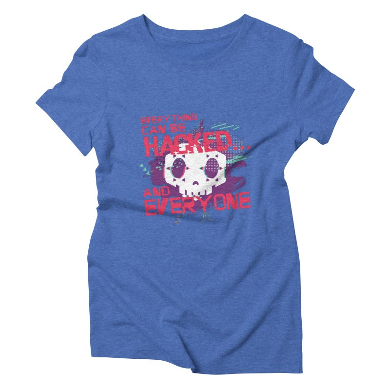 Sombra Women's Triblend T-shirt by tulleceria