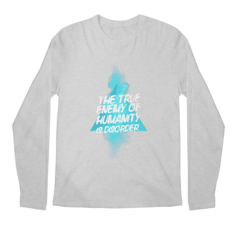Symmetra Men's Longsleeve T-Shirt by tulleceria