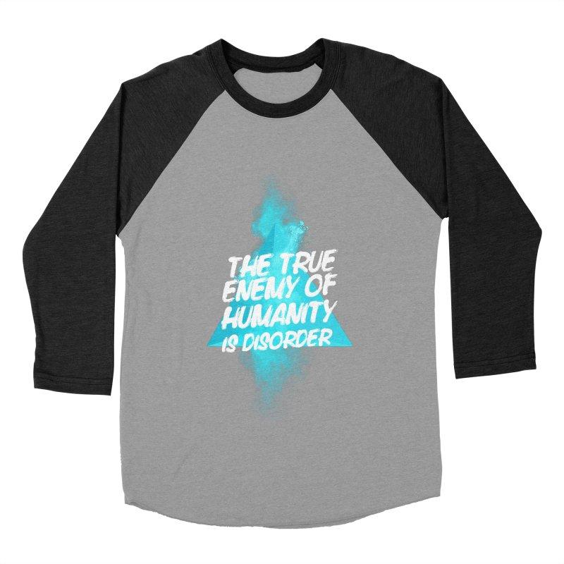 Symmetra Men's Baseball Triblend T-Shirt by tulleceria