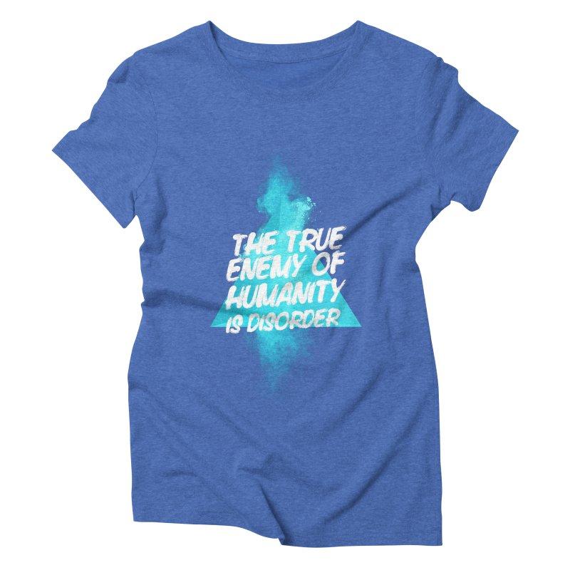 Symmetra Women's Triblend T-shirt by tulleceria