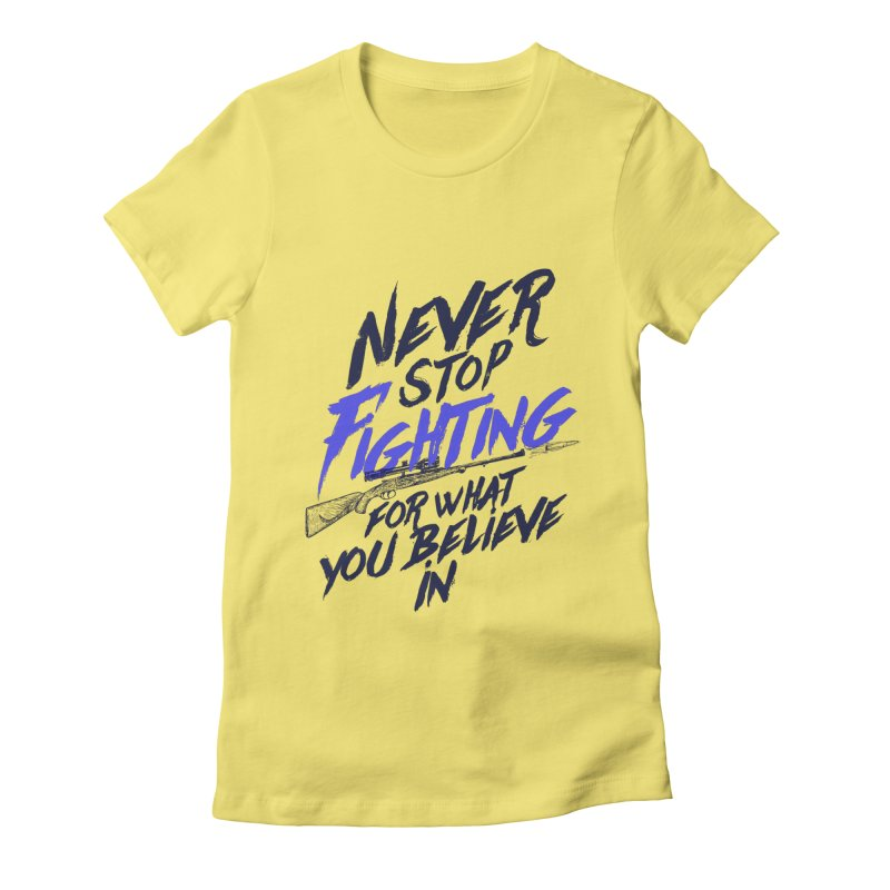 Ana Women's Fitted T-Shirt by tulleceria