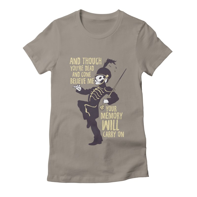 My Chemical Romance Women's Fitted T-Shirt by tulleceria