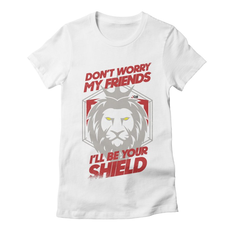 Reinhardt Women's Fitted T-Shirt by tulleceria