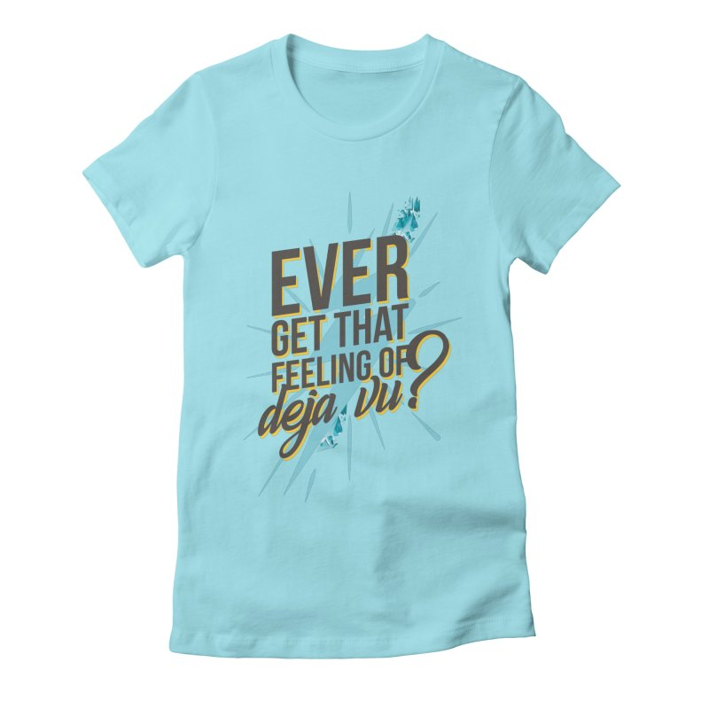 Tracer Women's Fitted T-Shirt by tulleceria