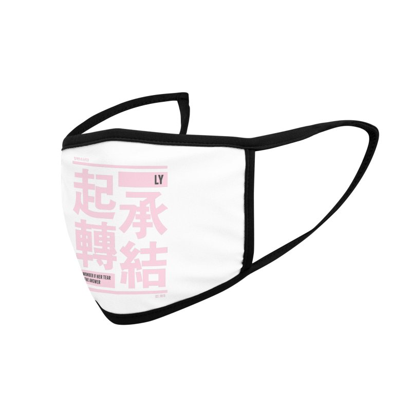BTS Love Yourself Accessories Face Mask by tulleceria