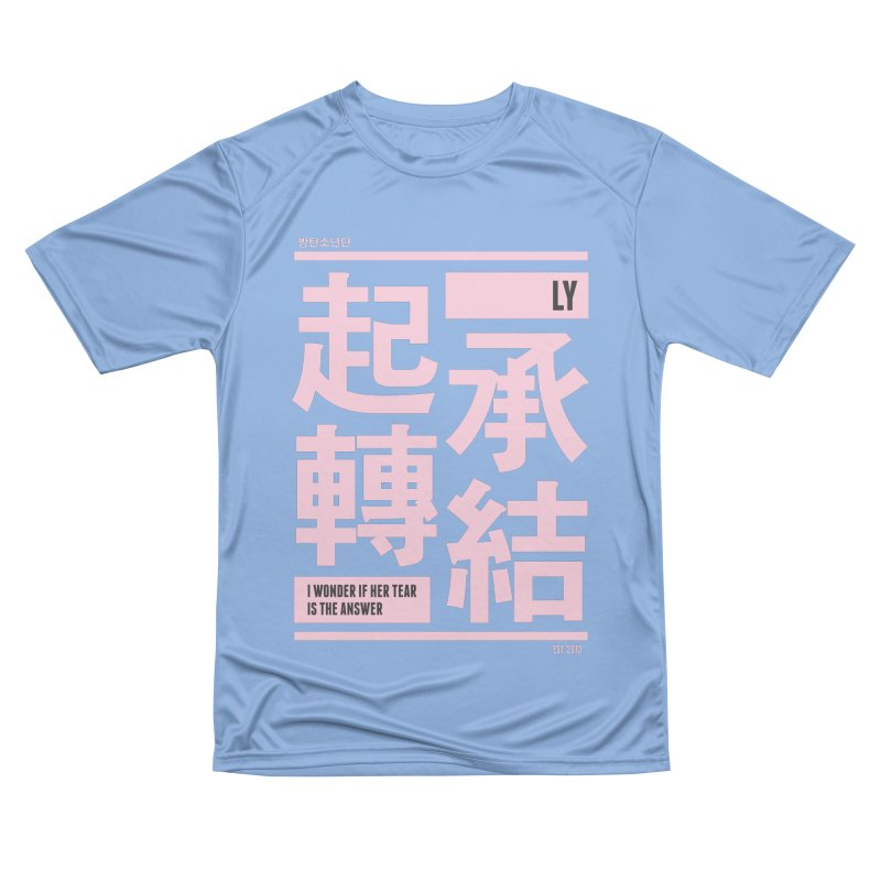 BTS Love Yourself Men's T-Shirt by tulleceria