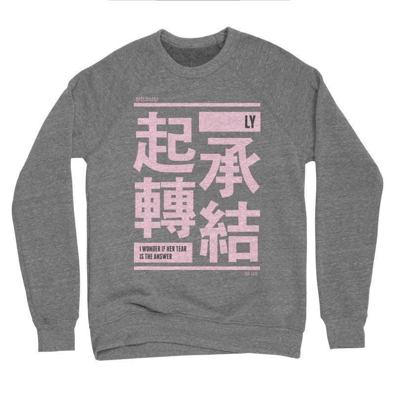 BTS Love Yourself Men's Sweatshirt by tulleceria