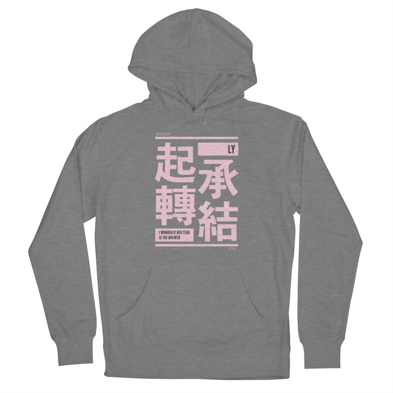 BTS Love Yourself Women's Pullover Hoody by tulleceria
