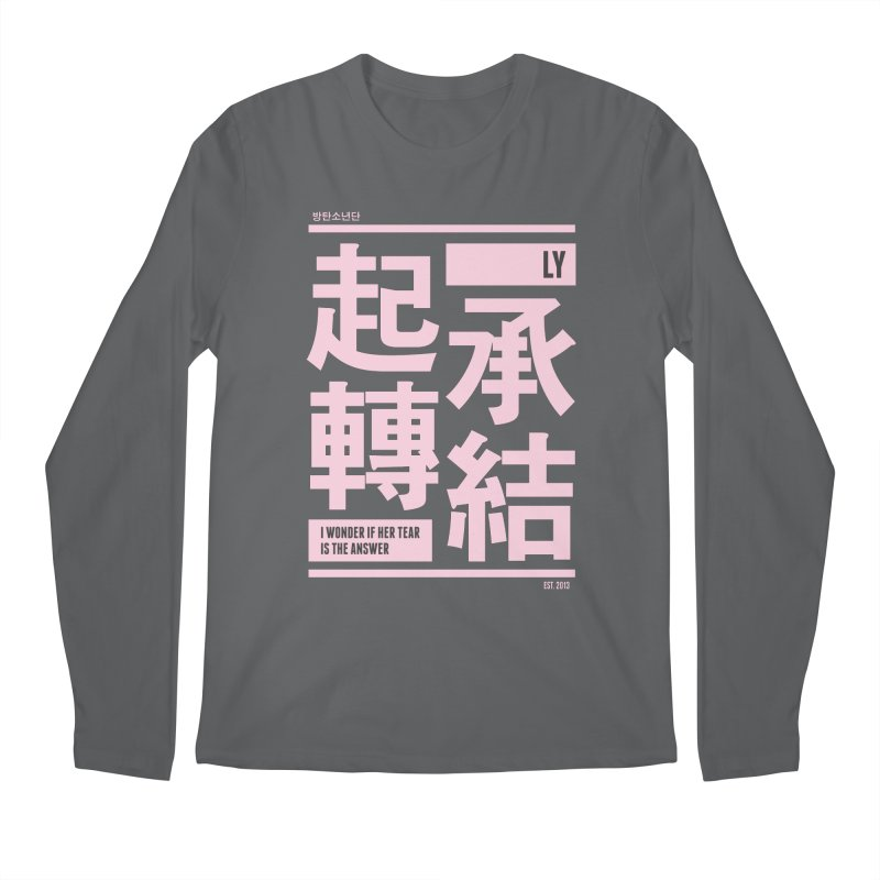 BTS Love Yourself Men's Longsleeve T-Shirt by tulleceria
