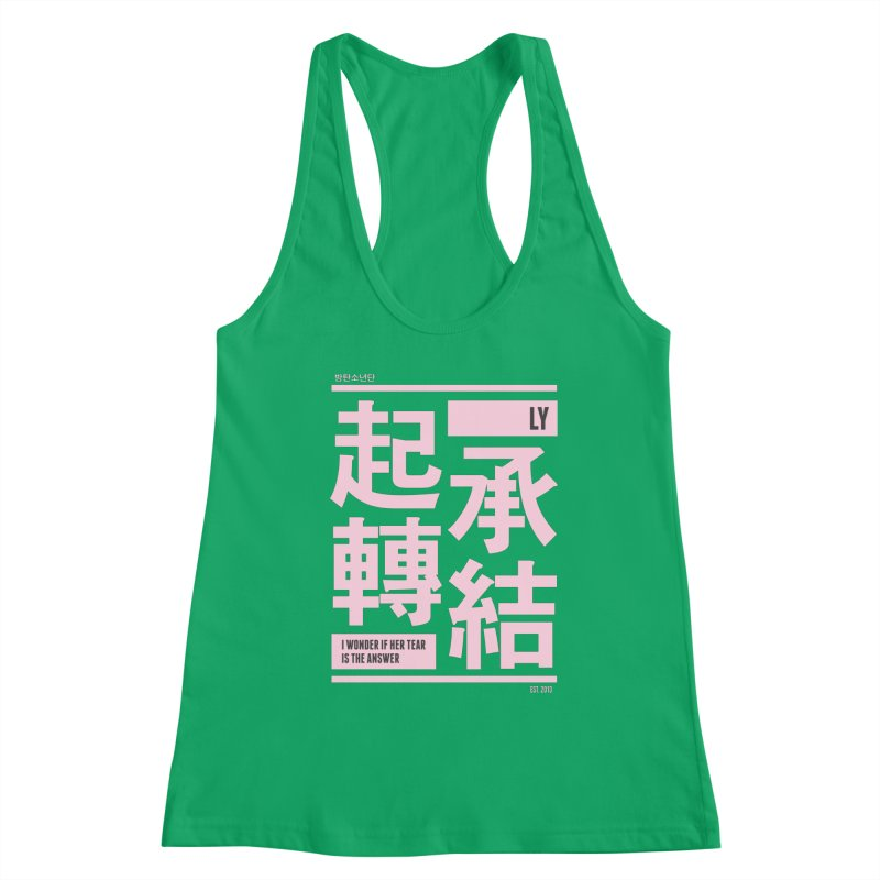 BTS Love Yourself Women's Tank by tulleceria
