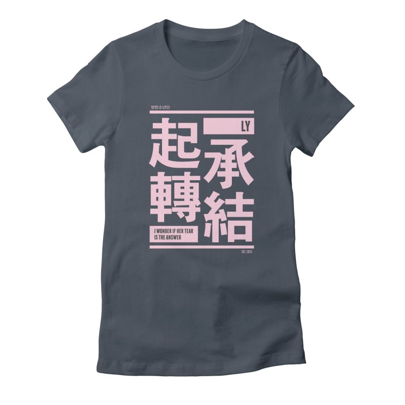 BTS Love Yourself Women's T-Shirt by tulleceria