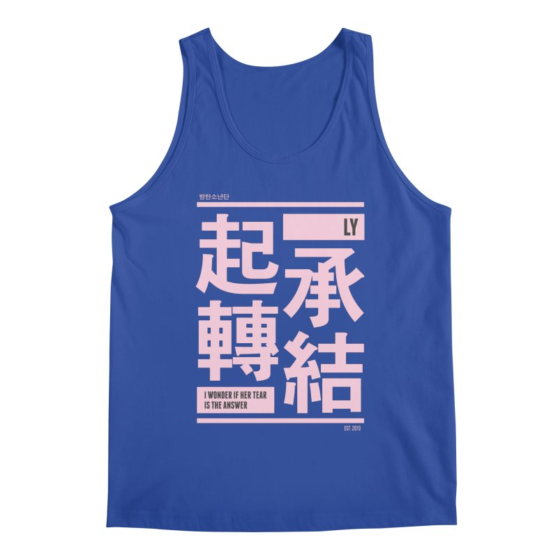 BTS Love Yourself Men's Tank by tulleceria
