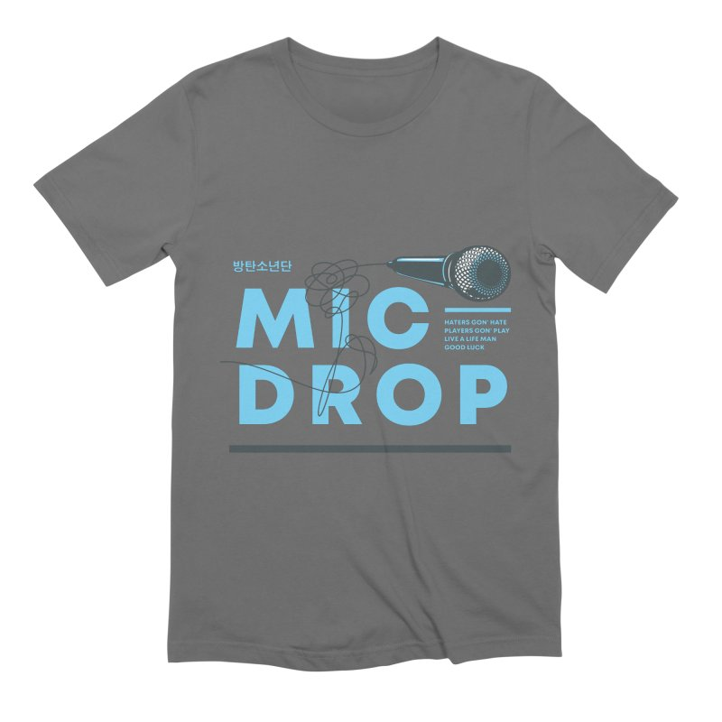 BTS Mic Drop Men's T-Shirt by tulleceria